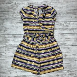 New Directions Shorts Romper Size PM NWT